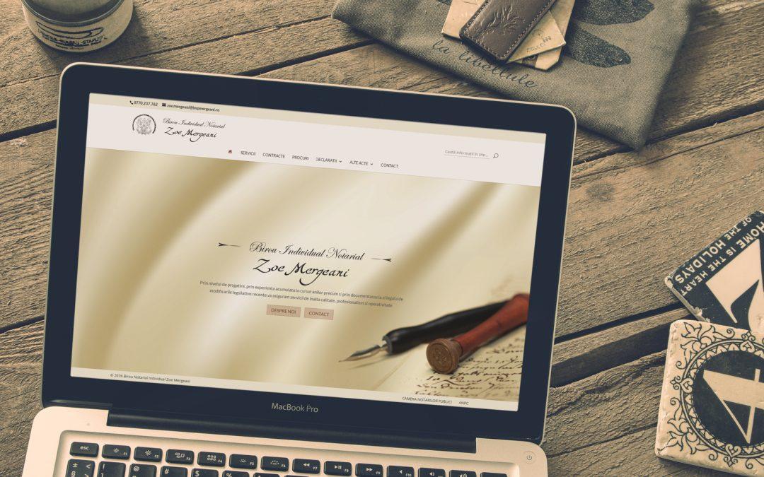 Notary Zoe Mergeani   presentation site
