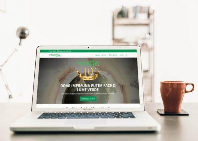 PRISCOM Recicleaza | Presentation site